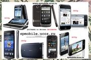 телефоны Nokia, iphone, HTC