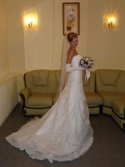 Продам свадебное платье,  бу 1 день
