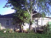 Дом деревянный,  обложен кирпичом